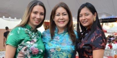Clara Joa, Rubén Lu y Henya Tejada.