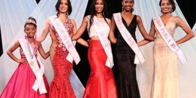 Las nuevas reinas del Miss Perla 2019.
