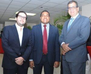 Leonardo Rodríguez, José P. Monegro y Carlos Gómez.