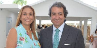 Lissie Soto y Jaime Caycedo.