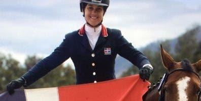Giorgia Ieromazzo  celebra luego del triunfo.