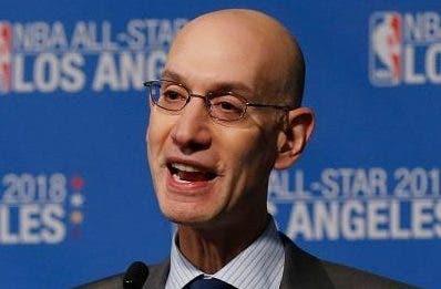 Adam Silver,  comisionado de la NBA,  lidera propuesta.  AP
