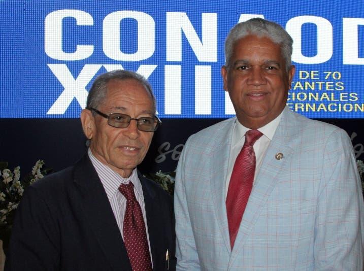 Luis Manuel Despradel y Darío Taveras.