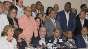 Pared Pérez resaltó su trayectoria de 44 años como militante del PLD. Nicolás Monegro