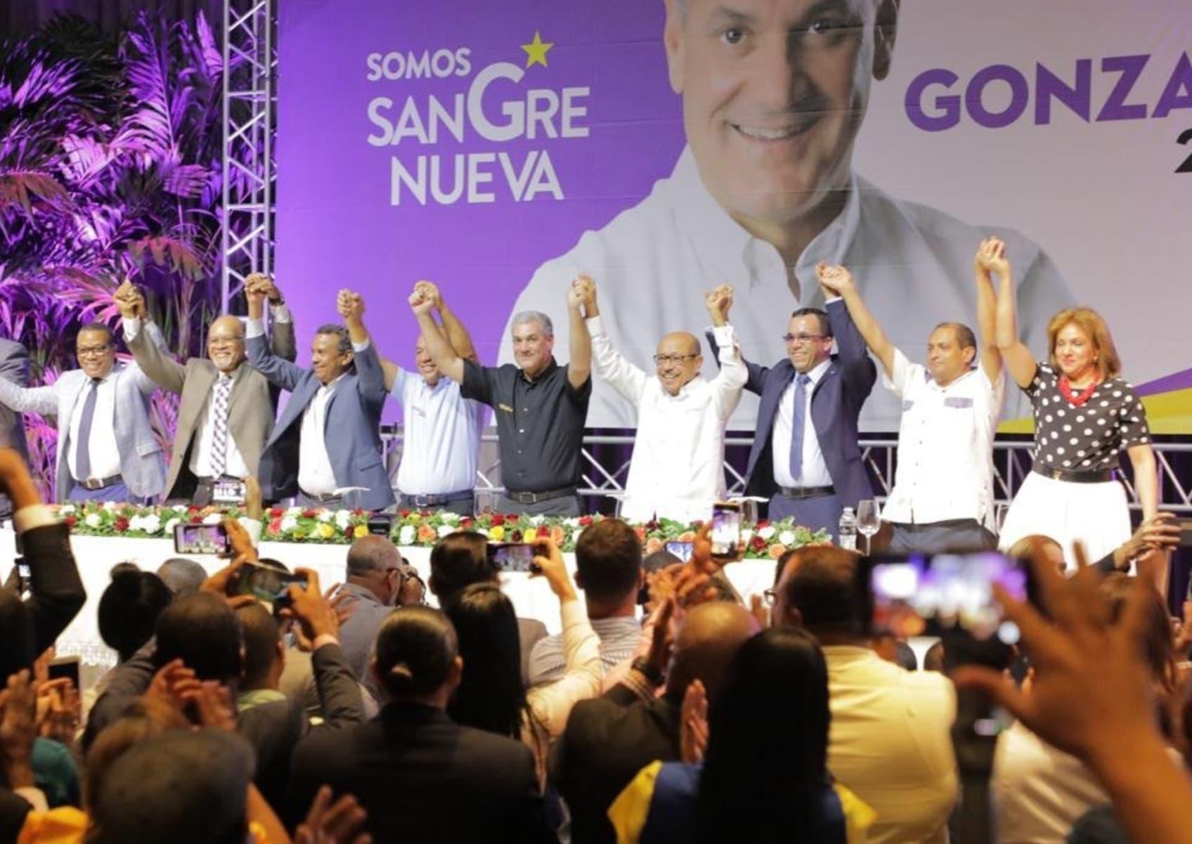 Gabinete casi en pleno se integra a impulsar precandidatura de Gonzalo