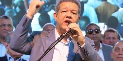 Un  escenario electoral sería Leonel Fernández y Abinader  .