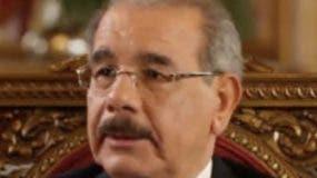El presidente Danilo Medina.