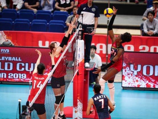 Las Reinas del Caribe vencen a Corea y obtiene su primera victoria en la Copa Mundial