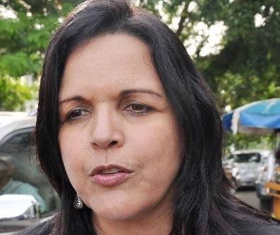 Minou Tavárez, vicepresidenta de Alianza País.