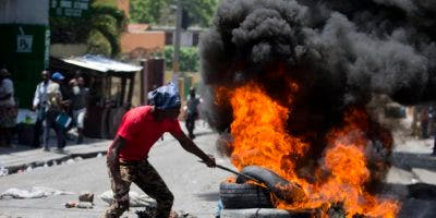 Haiti Gas Protest
