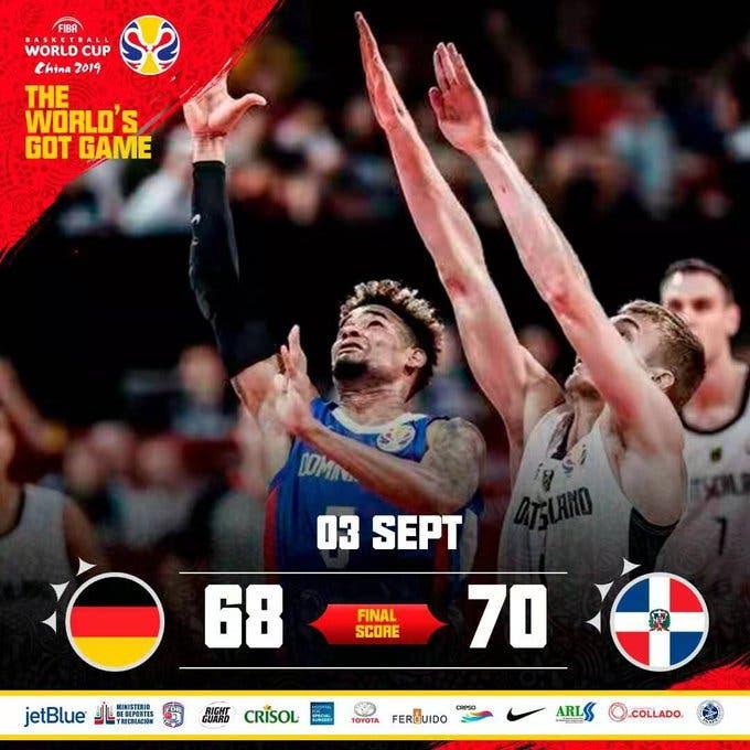 Dominicana le gana a Alemania