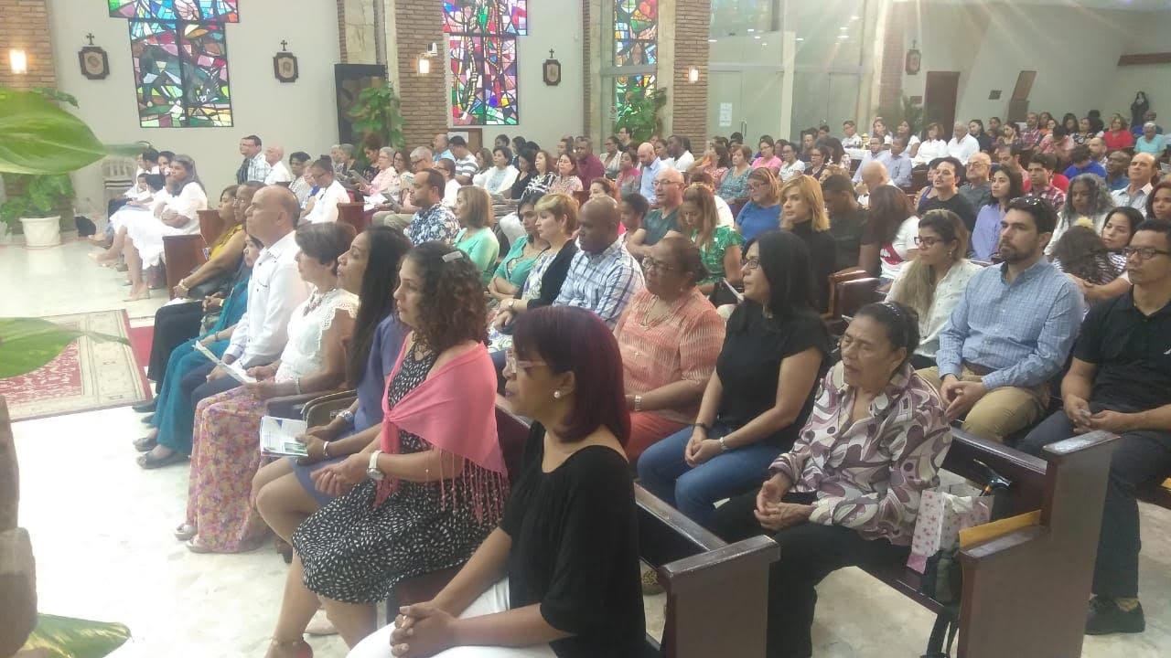 La Fuerza Boschista del partido de la Liberación Dominicana PLD realizó este domingo una misa por la unidad del PLD y para que impere la armonía en las primarias del 6 de octubre próximo.