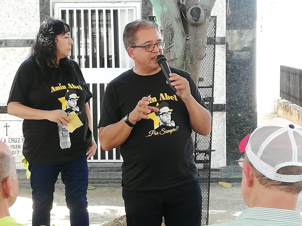 Lenchy Vargas destaca lucha de Amín Abel contra el régimen de Balaguer