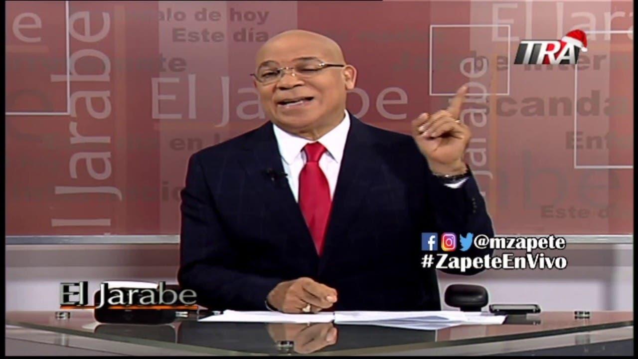 Marino Zapete denunció que su programa fue sacado del aire por presiones del Procurador General de la República, Jean Alain Rodríguez.