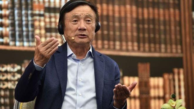 Ren Zhengfei es el fundador y dueño de Huawei.