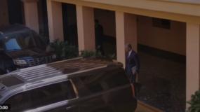 Gonzalo a su salida de las oficinas del Palacio Nacional.