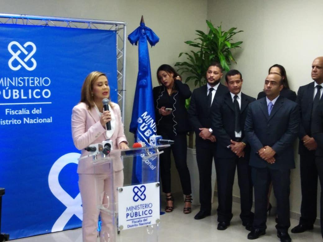La fiscal Rosalba Ramos habló en la sede de la Procuraduría.