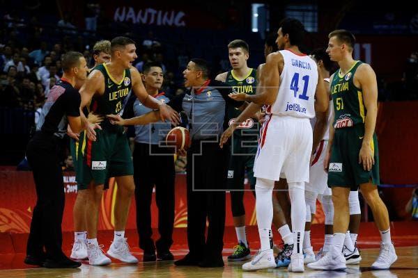 55-74. Lituania no da opción a Rep. Dominicana en su despedida del Mundial