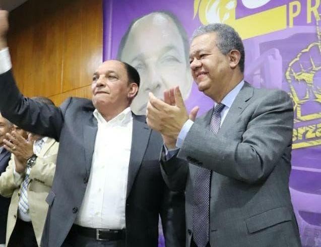 Leonel recibe formal respaldo de la esposa de Pared Pérez