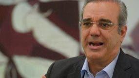 Luis Abinader, precandidato presidencial PRM.