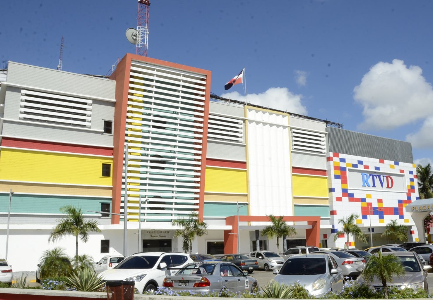 Esta es la fachada de CERTV, que también en su interior  fue remodelada y luce diferente.  José de León