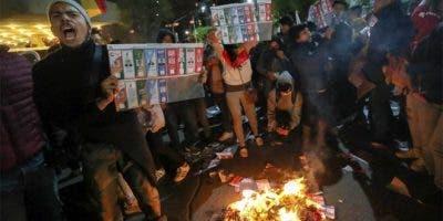 El Tribunal Supremo Electoral de Bolivia (TSE) actualizó el lunes los datos del recuento rápido señalando una estrechísima victoria para Evo Morales, sobre Carlos Mesa, lo que generó descontento entre los opositores a Morales.