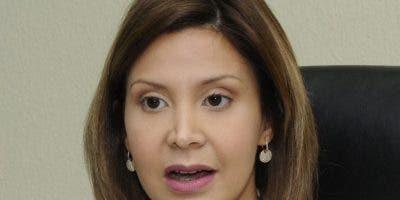La fiscal del Distrito Nacional, Rosalba Ramos.
