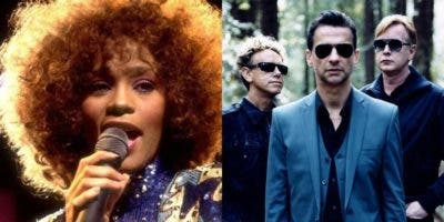 Whitney Houston y Depeche Mode.