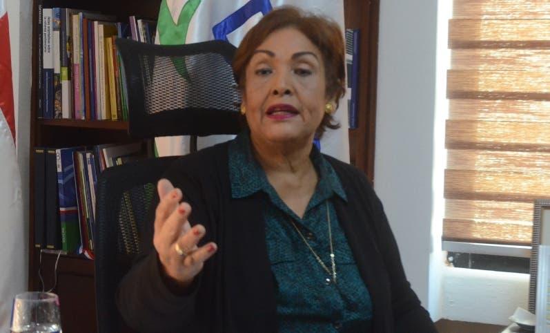 Directora de la DIDA, Nélsida Marmolejos. José de león