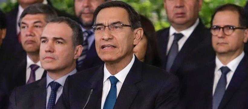 Martín Vizcarra espera  decisión del  Tribunal Constitucional.