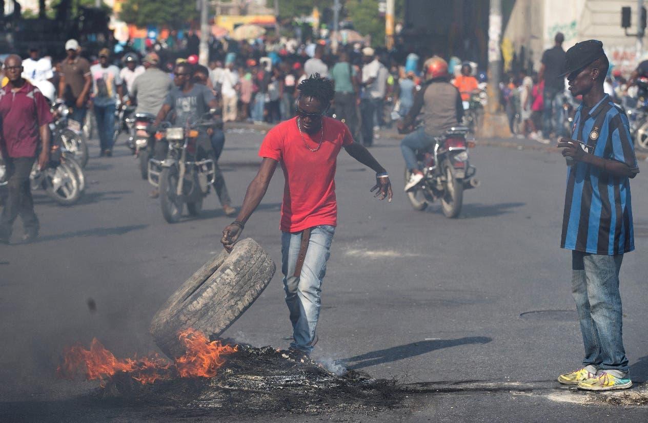 El llamado a diálogo de Jovenel Moise no calma las manifestaciones en las calles de Haití.