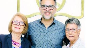 Marianne de Tolentino, Jochy Fersobe y  Mayra Johnson.