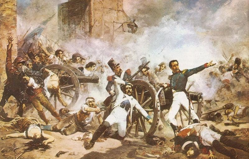 """En el lugar donde se produjo el combate, el general haitiano Seraphin había construido un fuerte amurallado al que denominó """"El Invencible""""."""