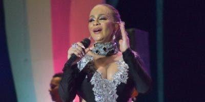 Miriam Cruz estuvo magistral durante este show.