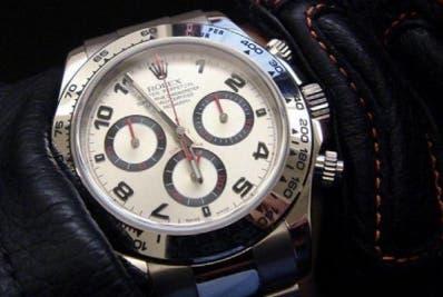 Ese modelo se convirtió en el reloj de pulsera más caro.