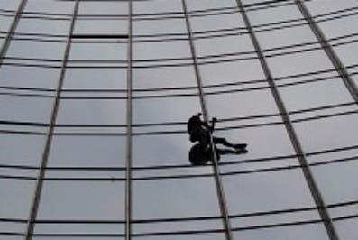 El 'Spiderman' francés fue arrestado