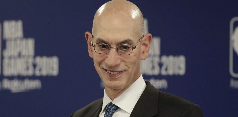 Adam Silver  se refiere al conflicto entre China y la NBA.