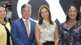 Sina del Rosario Cabral, Juan Carlos Hernández, Ana Figueiredo y Ana María Domínguez.