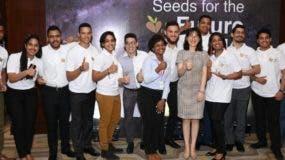 Los ganadores del programa de Huawei.