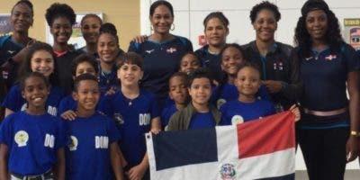 Integrantes de la selección de República Dominicana.