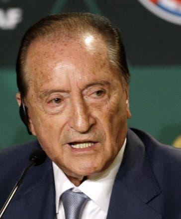Eugenio Figueredo, suspendido de por vida.