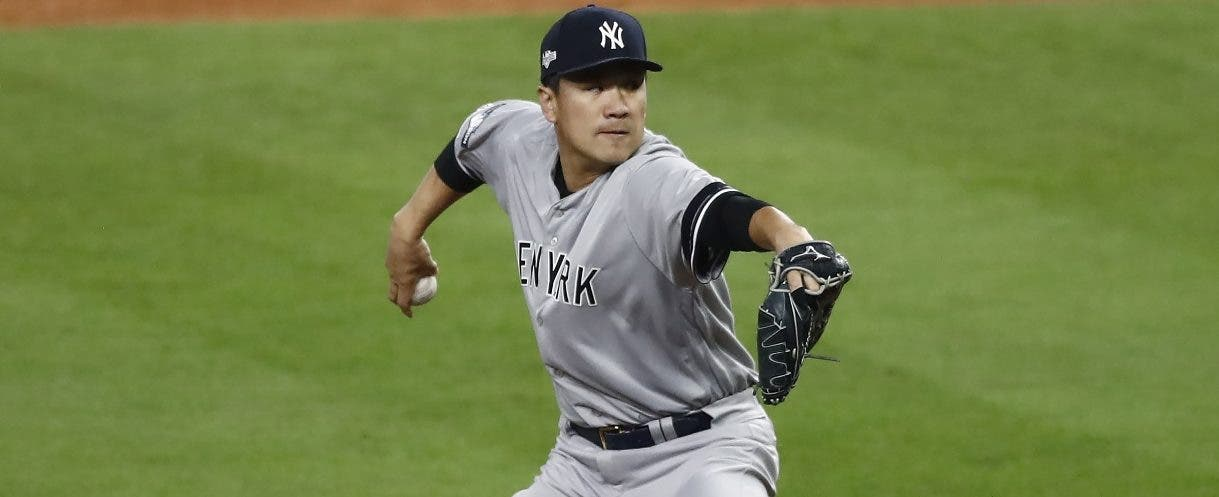 Masahiro Tanaka tiene el reto de ayudar a que los Yankees puedan igualar 2-2 la serie.  Ap