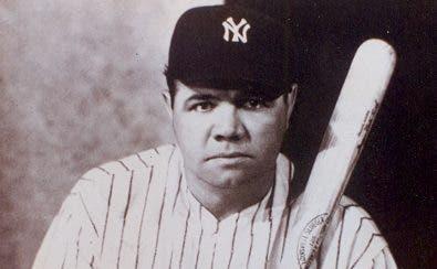 Bate del jonrón  500  de Babe Ruth, a subasta