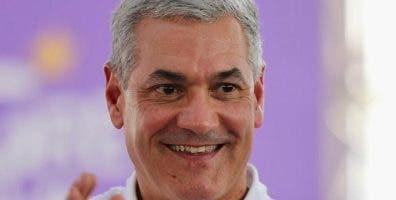 Gonzalo Castillo, candidato presidencial por el PLD.