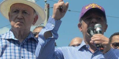 """Leonel insiste  que  en las primarias  del PLD hubo """"fraude""""."""