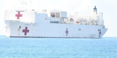 Barco permanecerá hasta el jueves de la próxima semana.