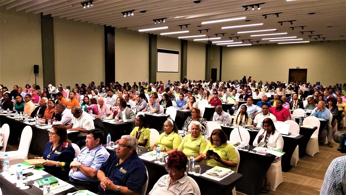 Un aspecto de la asistencia de delegados a la VIII Convención Financiera del Cooperativismo Dominicano que se ha desarrollado en Uvero Alto, Punta Cana.