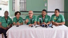 Cándido Mercedes, Miriam Díaz,  Francisco Álvarez, Heiromy Castro, y Carlos Pimentel.