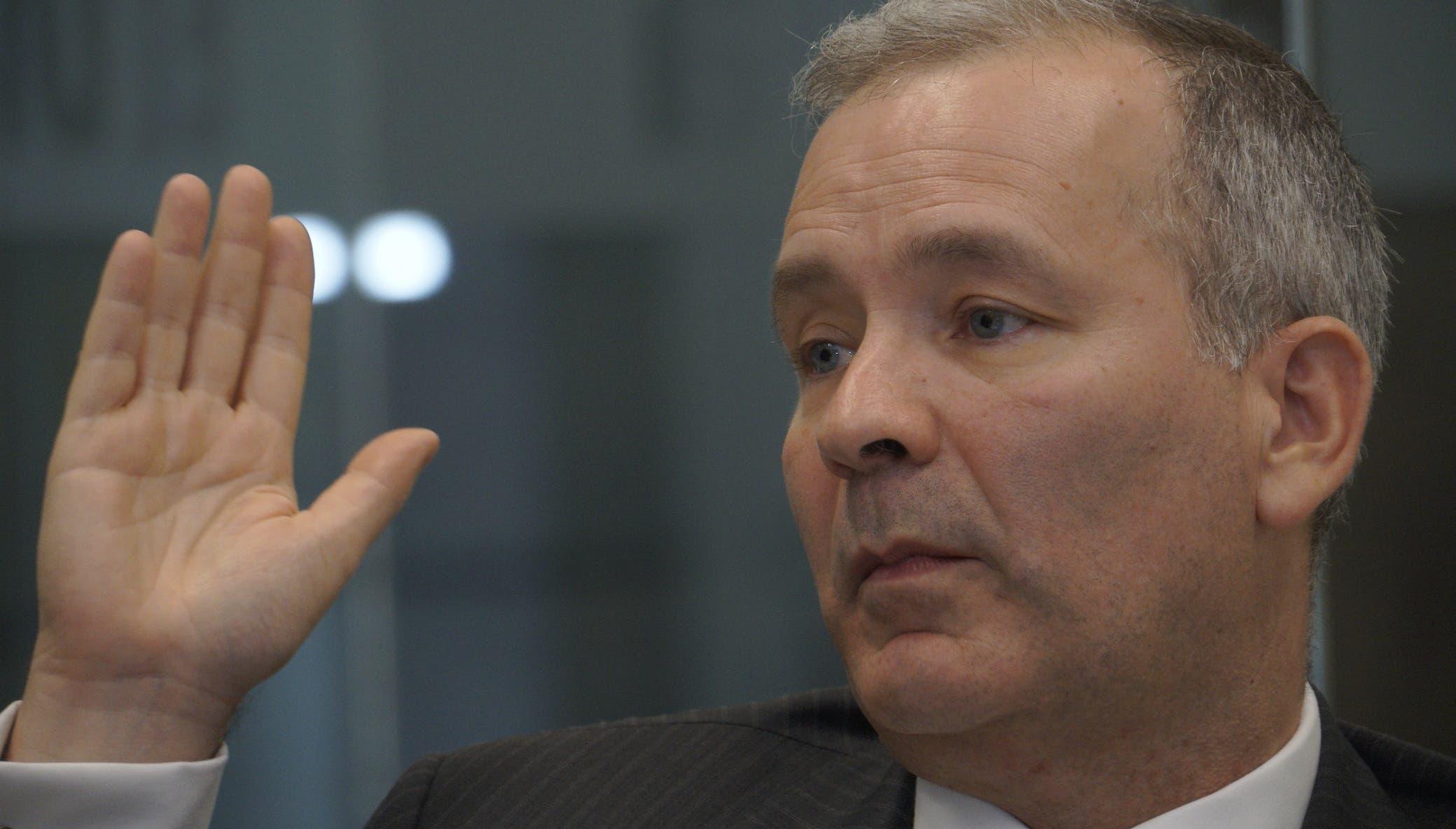 El representante del Banco Interamericano de Desarrollo, Miguel Coronado Hunter, al participar de los Coloquios de  EL DÍA.  Elieser Tapia