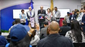El Pleno de la JCE ofreció detalles de las votaciones en rueda de prensa. Foto de archivo.